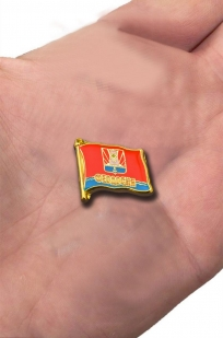 "Значок-флажок ""Феодосия"" с доставкой"