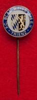 Значок футбольного клуба FC Blau-Weiß, Тринц, Германия