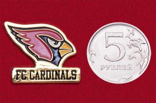 Значок футбольного клуба FC Cardinals, лига UPSL, Уинстон-Сейлем, США