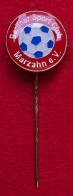 Значок футбольного клуба Fortuna Marzahn, Аренсфельде, Германия