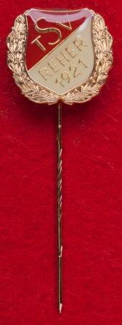 Значок футбольного клуба TSV Reher 1921, коммуна Реэр, Германия