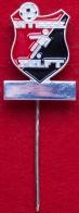 Значок футбольного клуба Витесс Делфт, Голландия (серебро)