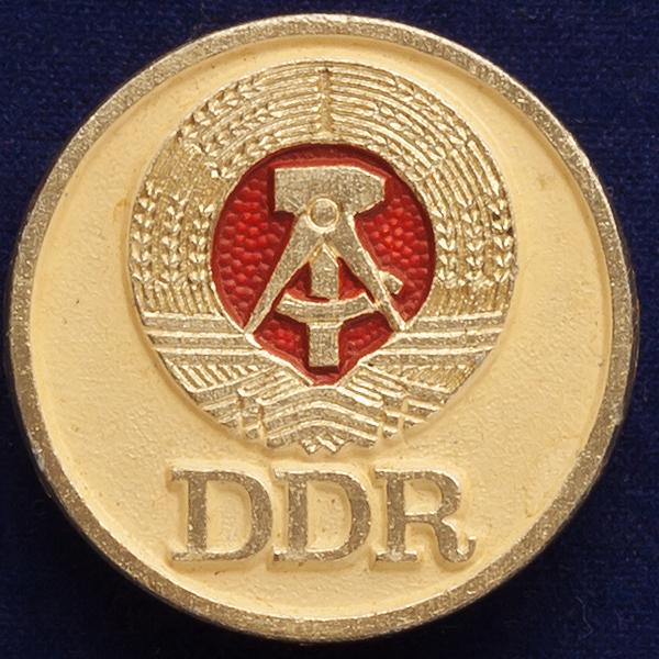 "Значок ""ГДР"""