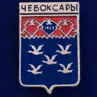 "Значок ""Герб Чебоксары"""