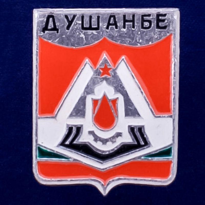 "Значок ""Герб Душанбе"""