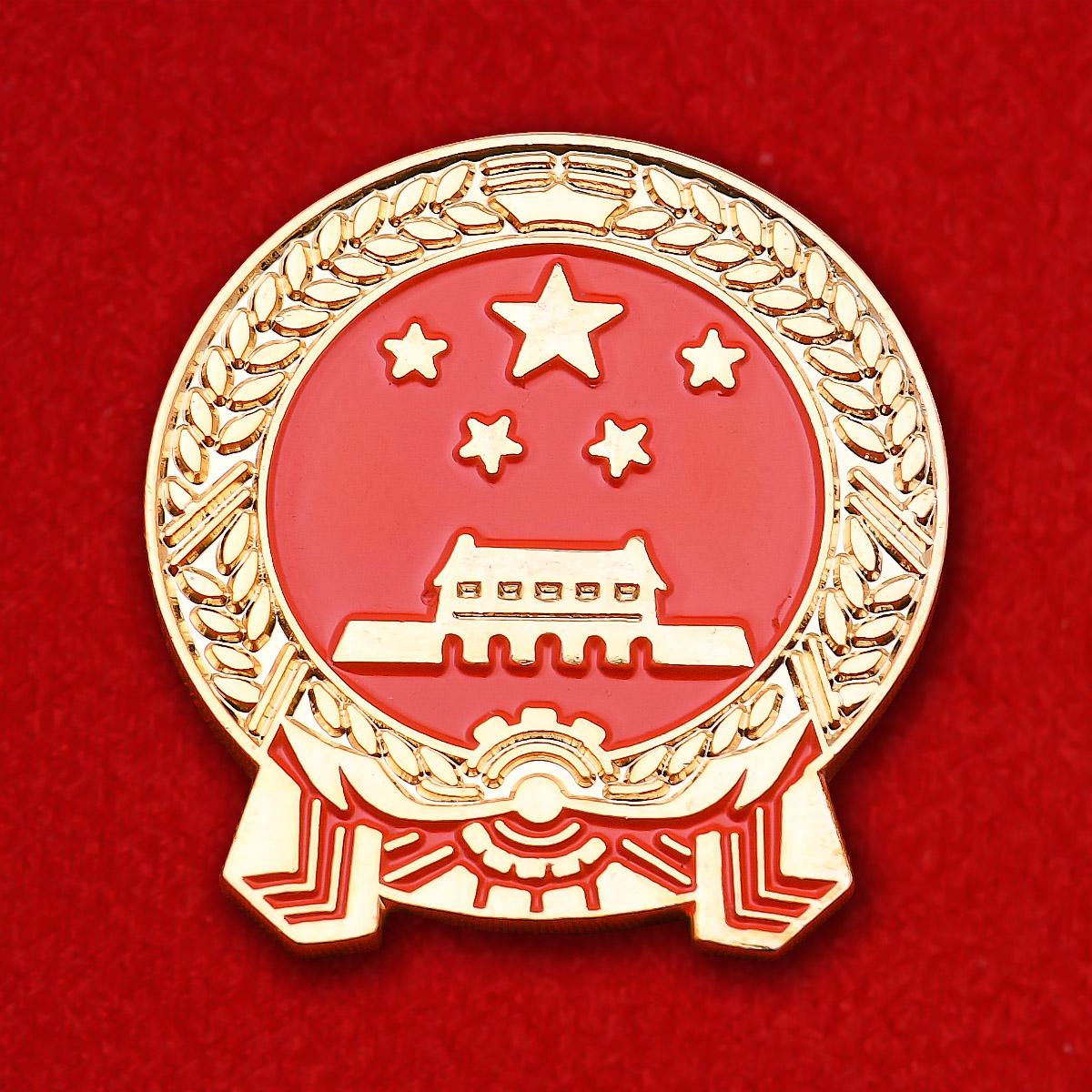 "Значок ""Герб Китая"""
