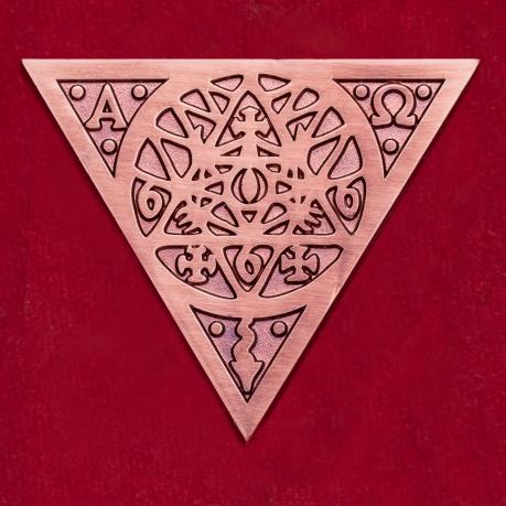 Значок голландской оккультной рок-группы The Devil