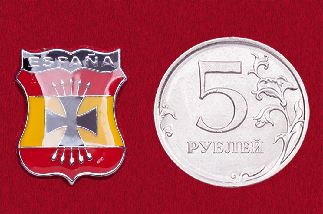 Значок Голубая дивизия, Испания