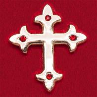 """Значок """"Готический крест"""""""
