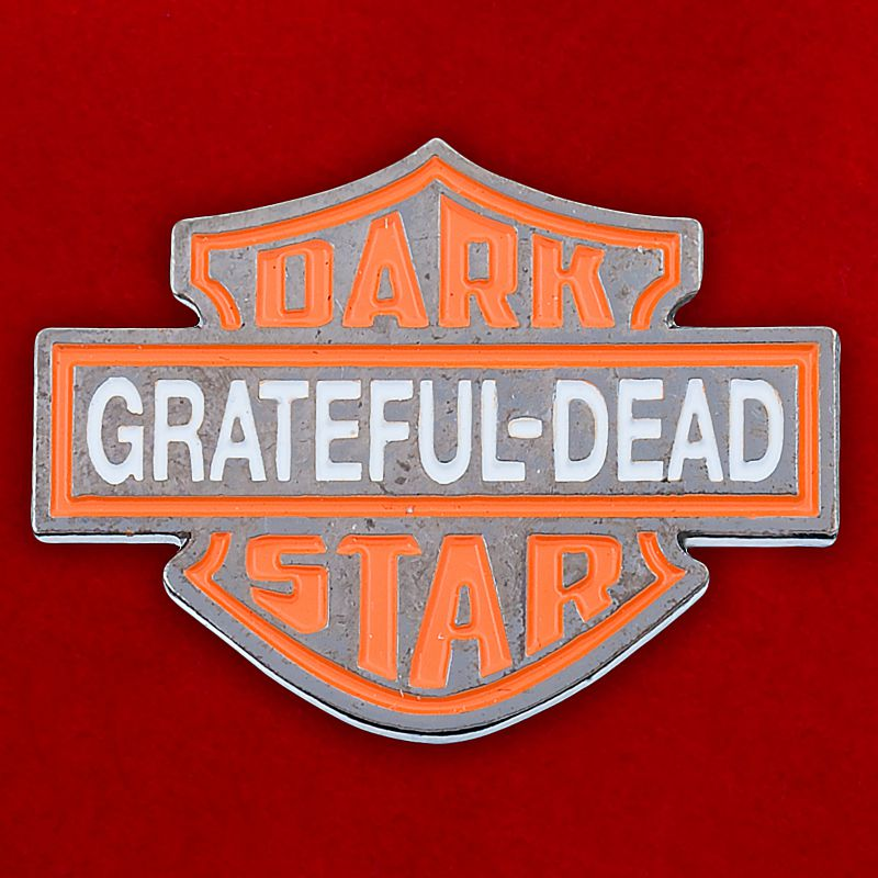 "Значок ""Grateful-Dead Dark Star"""