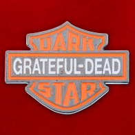 "Значок ""Grateful-Dead Dark Star"""