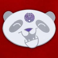 """Значок """"Grateful Dead Panda"""""""