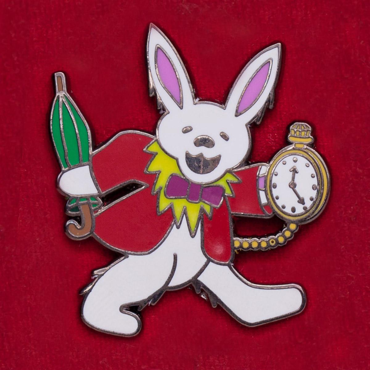 """Значок Grateful Dead """"Танцующий кролик"""""""