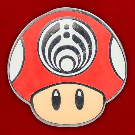 """Значок """"Грибы Супер Марио"""""""