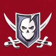 """Значок группы """"Банда Гуна"""" сообщества выживальщиков и магазина тактической экипировки ITS"""
