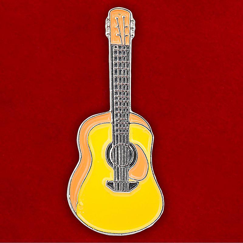 Значок на булавке Гитара для музыкантов