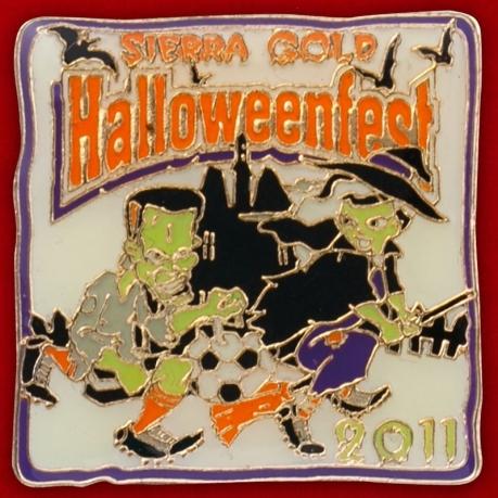 """Значок """"Halloweenfest 2011"""""""