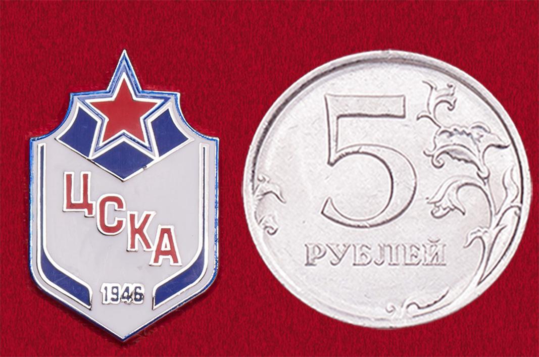 Значок хоккейного клуба ЦСКА