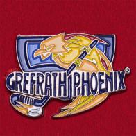 Значок хоккейного клуба Grefrath Phoenix, Германия