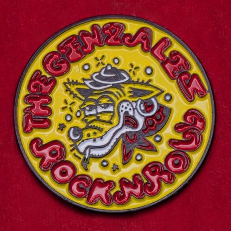 Значок инди-рок группы The Genzales