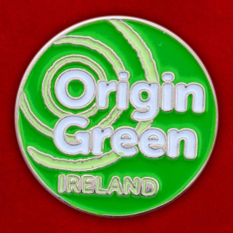 "Значок Ирландия ""Origin Green"""