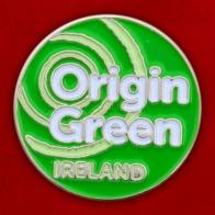 "Ирландский значок ""Origin Green"""