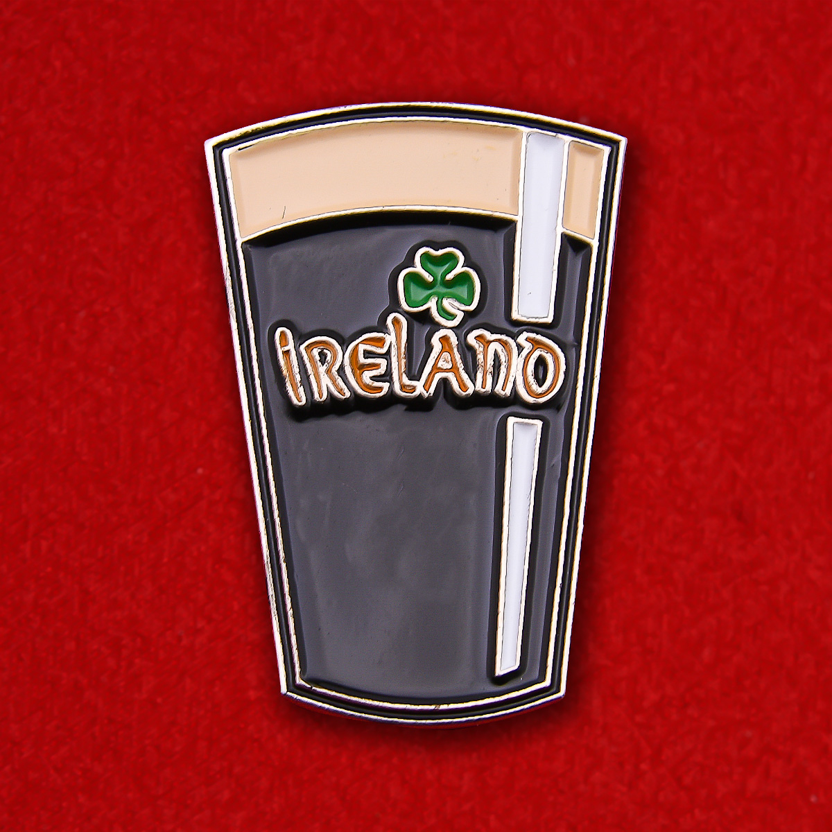 "Значок ""Ирландский Гиннесс"""
