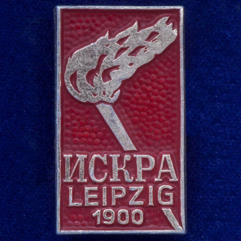 """Значок """"Искра. 1900"""""""