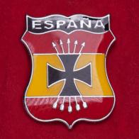 Значок испанской Голубой дивизии