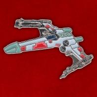 """Значок """"Истребитель X-Wing"""""""