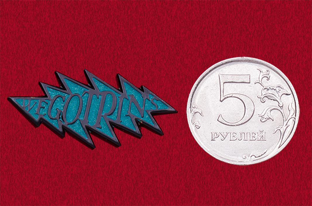 Значок из коллекции Grateful Dead от Wegotpins (синий)
