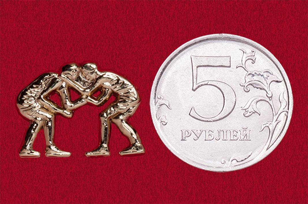 """Значок из спортивной коллекции """"Борьба"""""""
