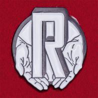Значок издательства Relegation Books, США