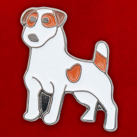 """Значок """"Jack Russell Terrier"""""""
