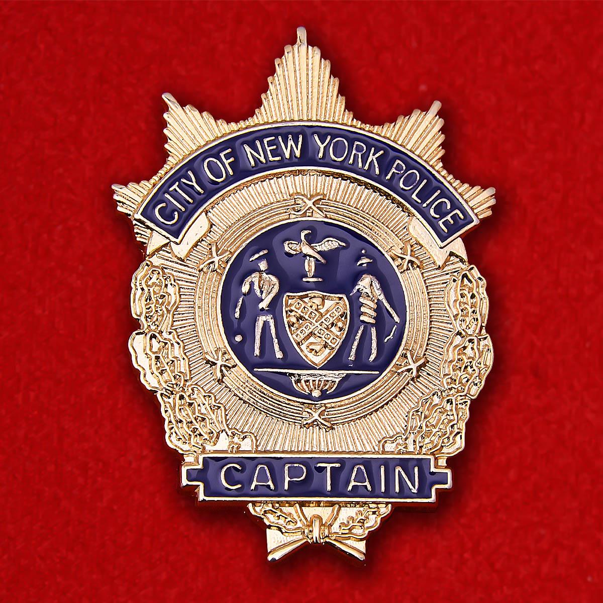"Жетон ""Капитан полиции Нью-Йорка"""