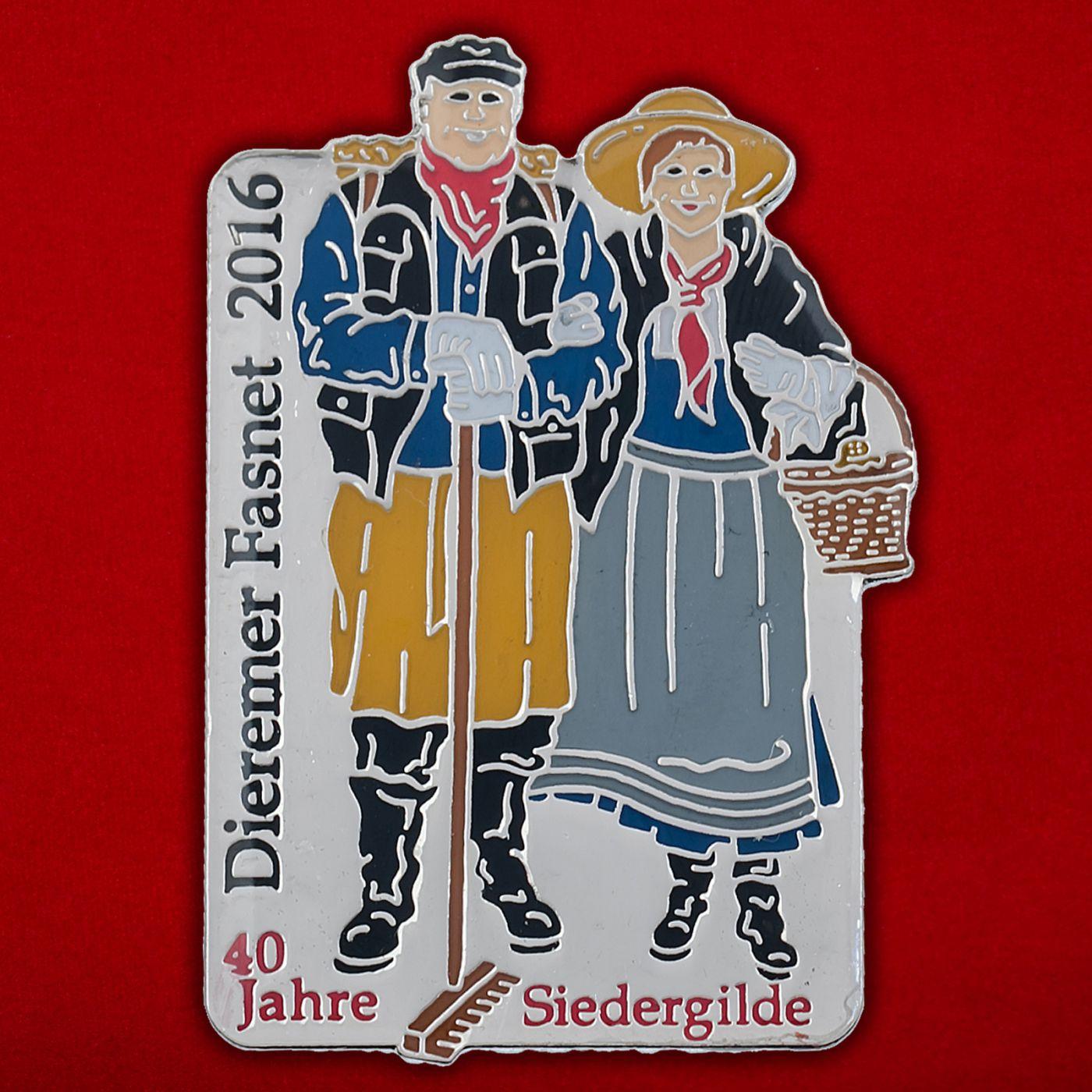 Значок карнавала в регионе Шварцвальд