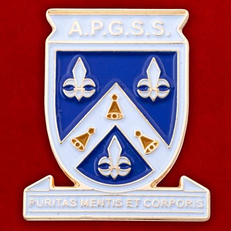 Значок католической женской школы в Гане