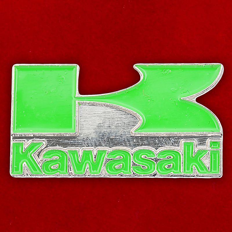 "Значок ""Kawasaki"""