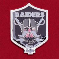 Значок клуба NFL Oakland Raiders, посвященный переезду в Лас-Вегас