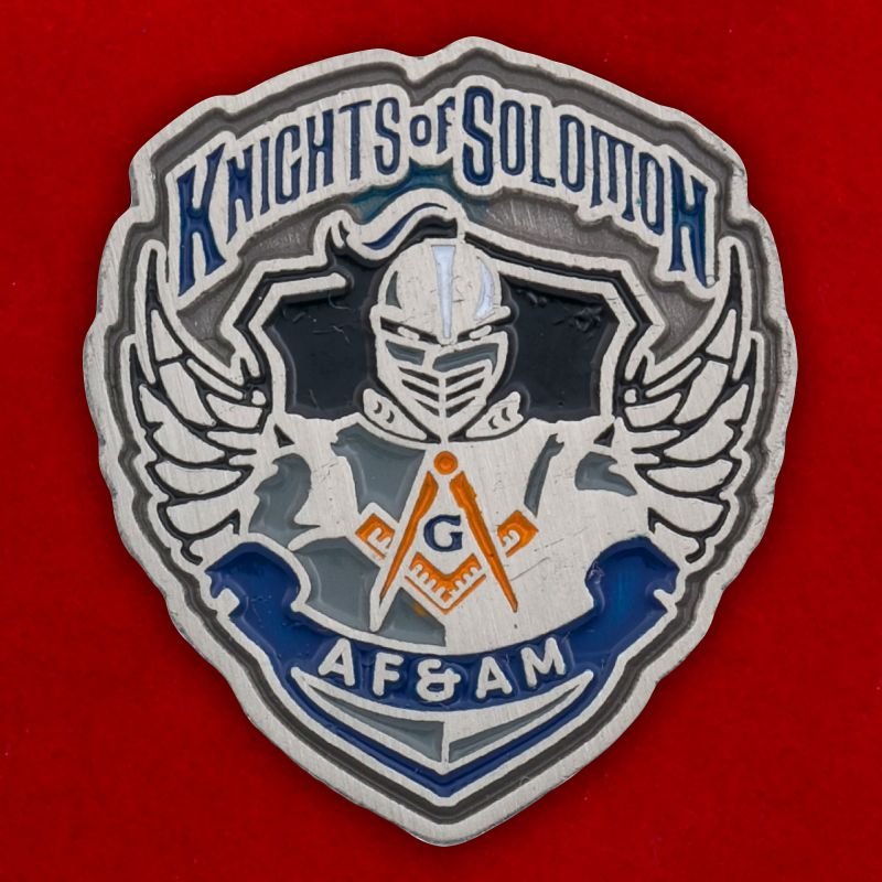 "Значок ""Knights of Solomon"""