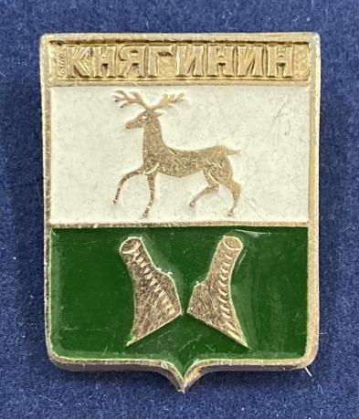 Значок Княгинин герб