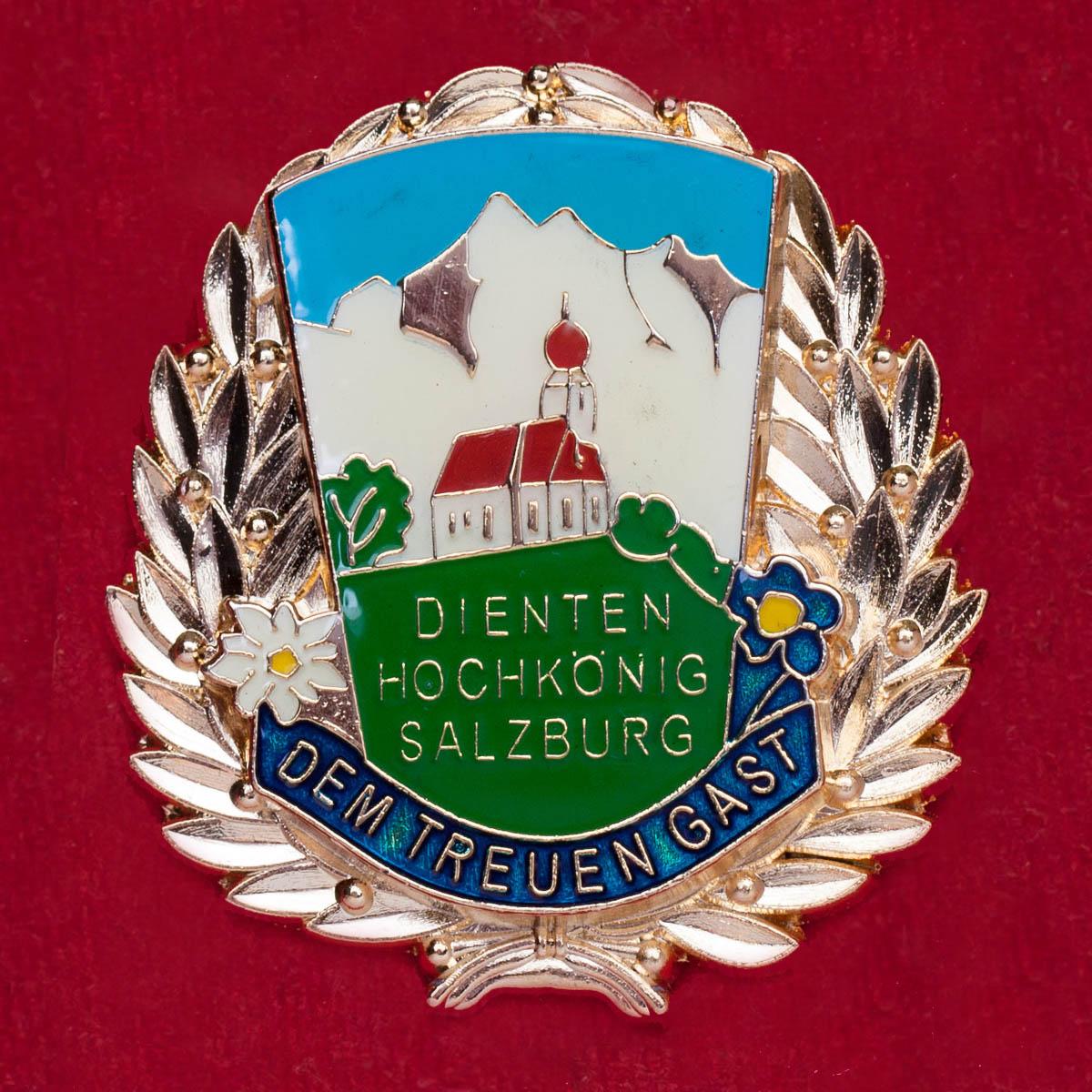 Значок коммуны Динтен-Хохкениг, Австрия