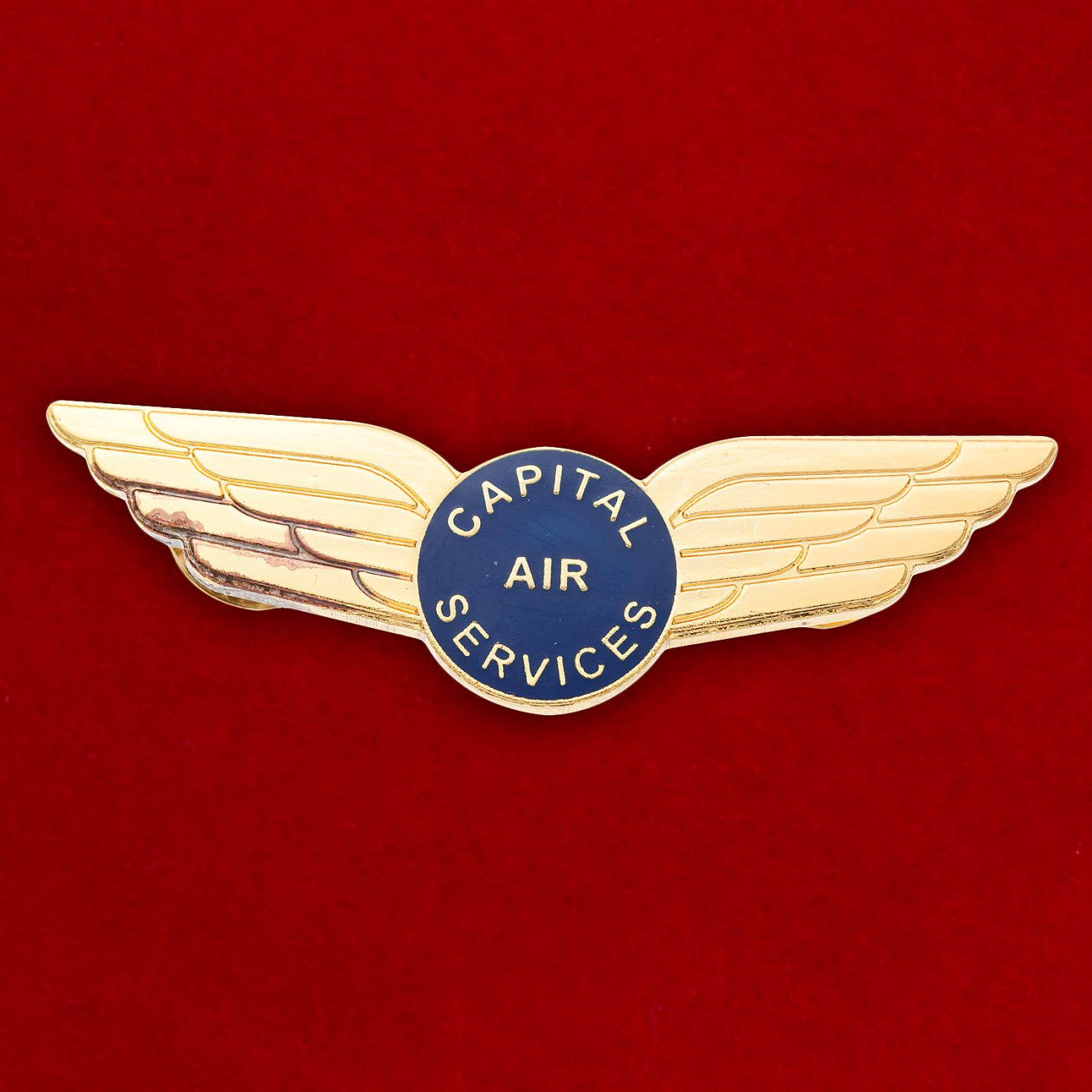 "Значок Компании ""Capital Air Services"""