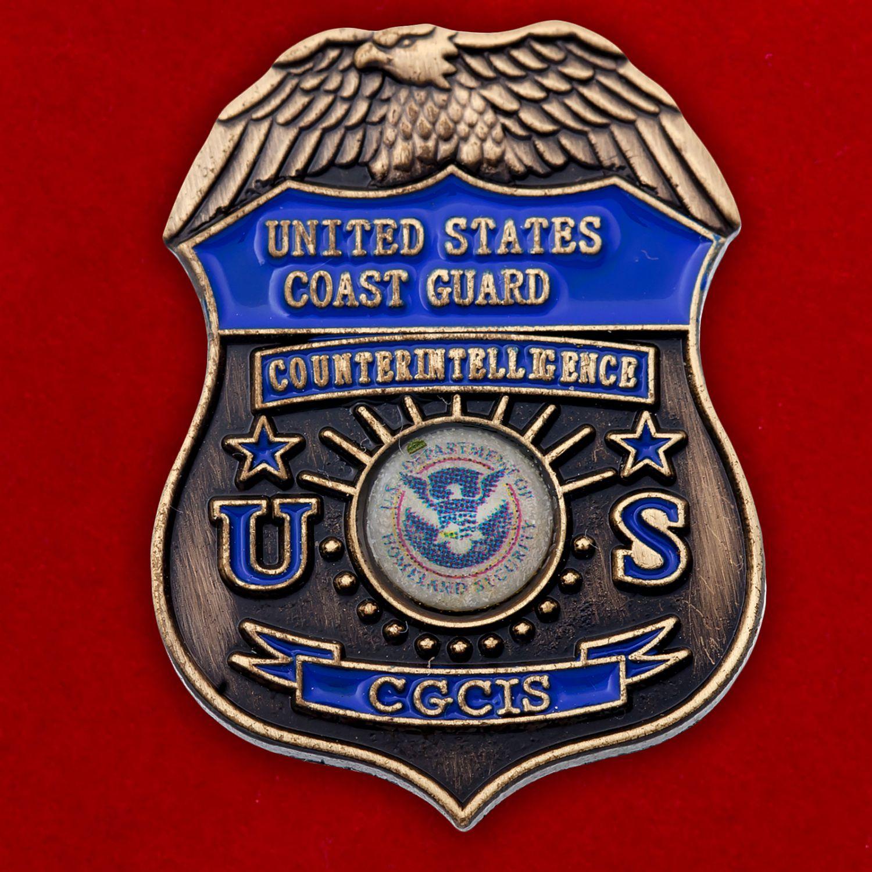 Значок контрразведки Нацгвардии США