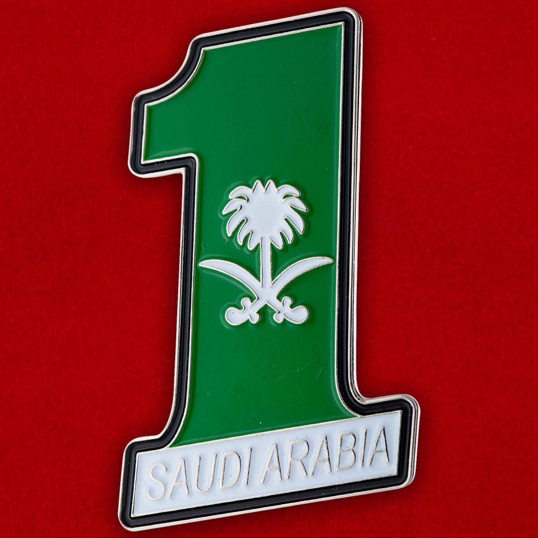 """Значок Королевства """"Саудовская Аравия"""""""