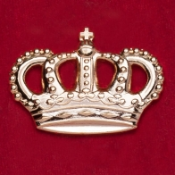 "Значок ""Корона короля Португалии Жуана VI"""