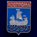 """Значок """"Кострома"""" герб"""