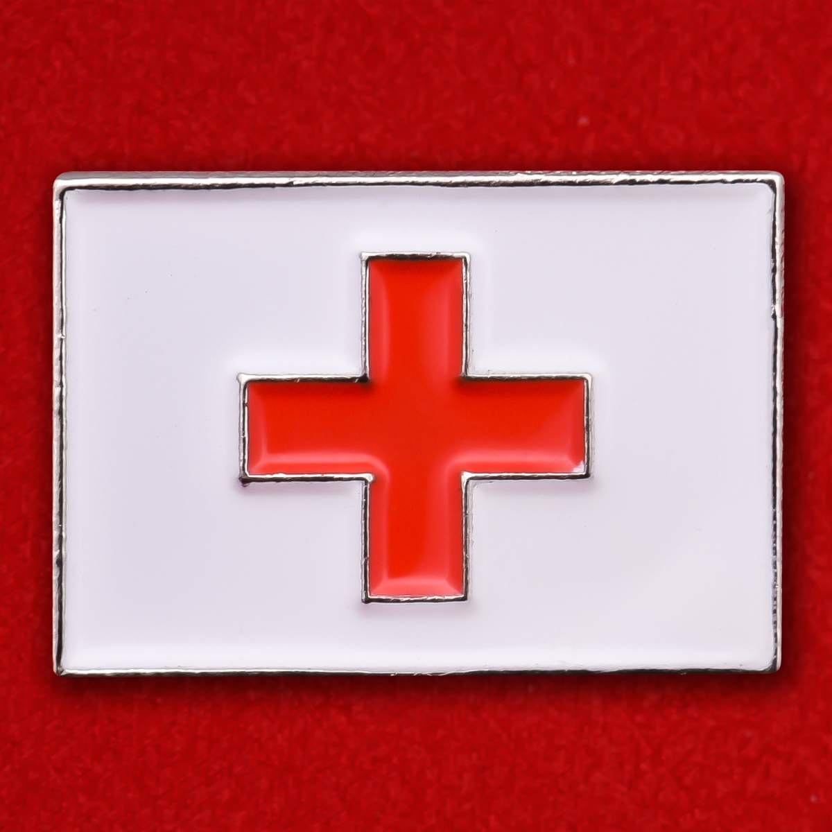 """Значок """"Красный крест"""""""