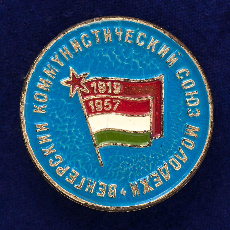 """Значок """"КСМ. Венгрия"""""""