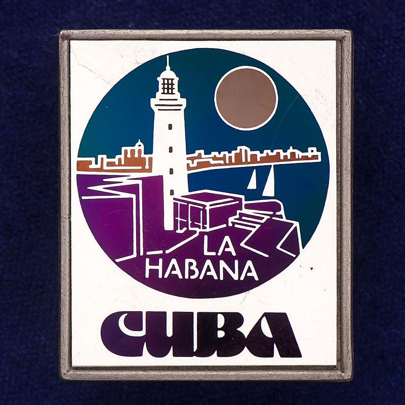 "Значок ""Куба. Гавана"""
